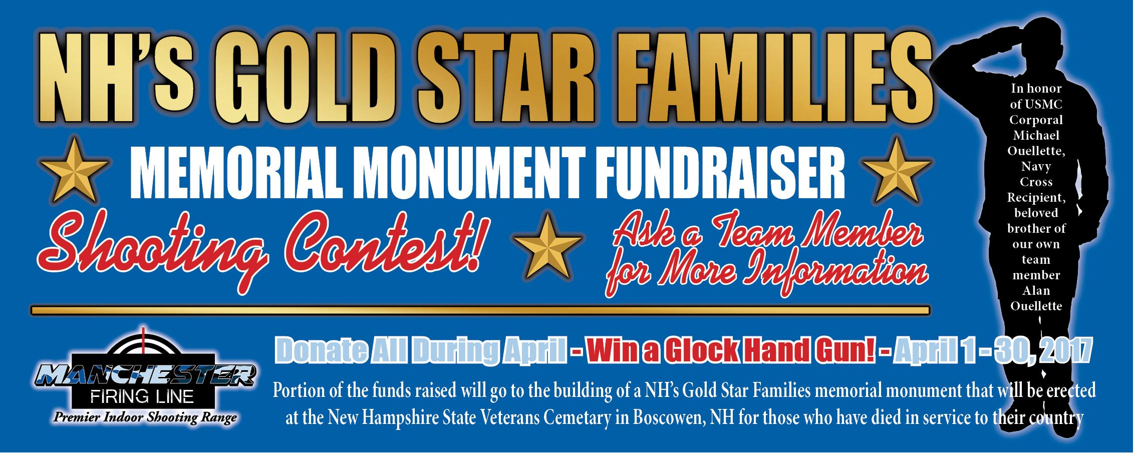 MFL_Gold Star Family Fundraiser Website Banner